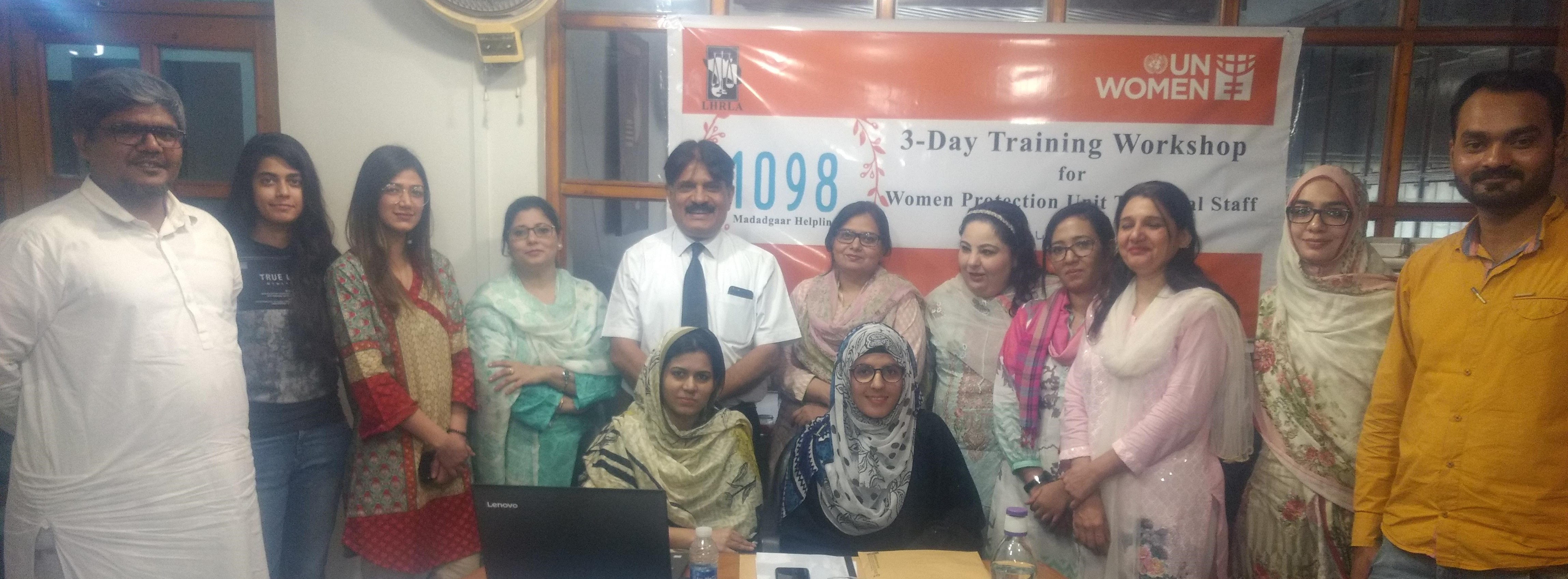 "Training Workshop on ""Gender-Based Violence Concerns and Interventions"""